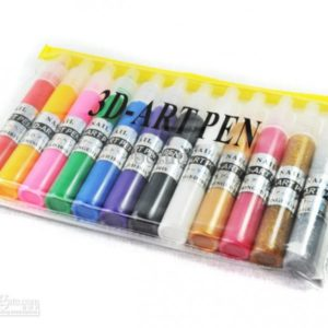 3D Nail Art Pen 12pcs set