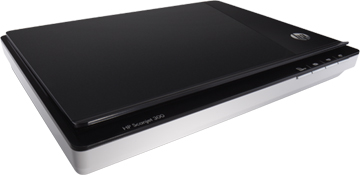 HP SCANNER SCANJET 300 FLATBED SCANNER