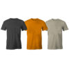 Pack Of 5 Quality Round Neck Cotton T-Shirts