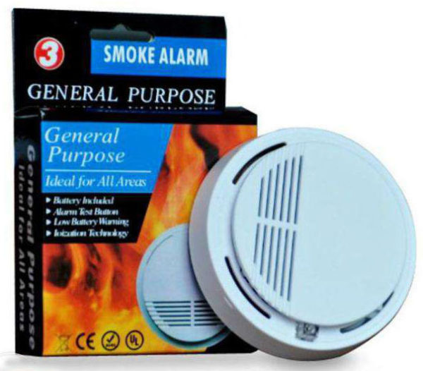 Smoke Alarm With High Sensitivity