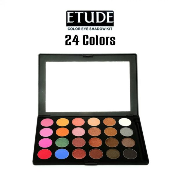 Etude 24 Colors Eye Shadow Kit Karachi