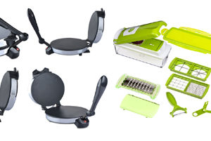 Electric Roti Maker + Get Nicer Dicer Plus