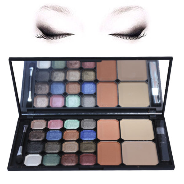 Free Delivery Nationwide Excellent Value For Money High Quality Product MAC Pack of 20 Colors Cosmetic Kit Brand: MAC Fashion Makeup Kit High Quality Product Collection of beautiful shades Gorgeous colors Light and Dark shades Random Shades Kit Will Be Delivered Kit Includes: 16 Colors Eyeshadow 2 Colors blusher 2 Colors Powder