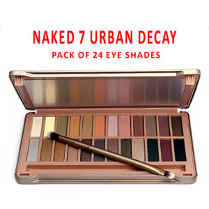 Naked 7 Urban Decay Pack Of 24 Eye Shades